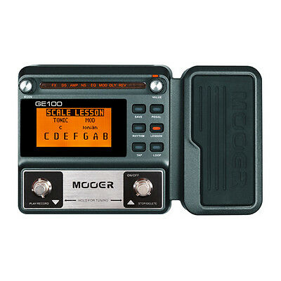 Mooer GE100 Multi Effect Digital Guitar Effect Processor with Expression Pedal