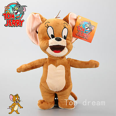 Cartoon Tom and Jerry Plush Doll Soft Cute Stuffed Toy Mouse JERRY 32cm Kid Gift