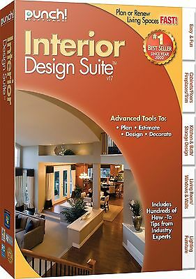 INTERIOR  DESIGN SUITE  PC Software by Punch--Version 17-----brand new