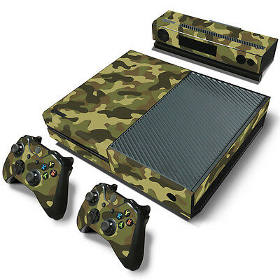Skin Sticker for XBOX One Console Controller Protector Cover Army Green