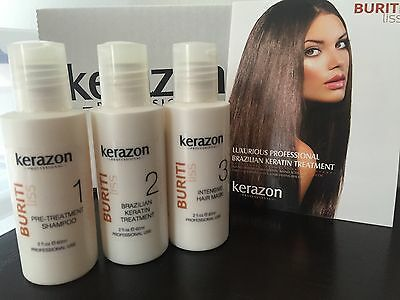 Brazilian Keratin Treatment Complex Blowout KERAZON kit 2oz/60ml Keratina