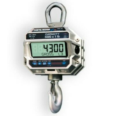 5,000 LB x 1 MSI-4300 Port-A-Weigh Plus NTEP Digital Marine Fishing Crane Scale