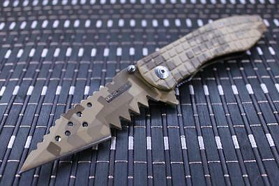*CAN* Tactical Spring Assisted Blade folding Open Pocket Knife 729DM-TF
