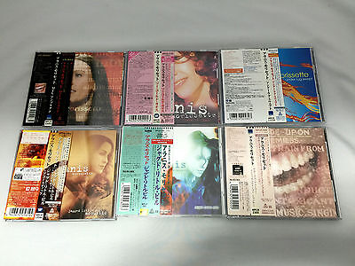 Alanis Morissette Japan Edition 6 CD Sets with OBI MTV Unplugged Acoustic