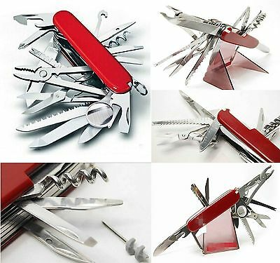 Survival Adventure kitchen 32-in-1 multifunction Army Knife Champ Pocket Knife