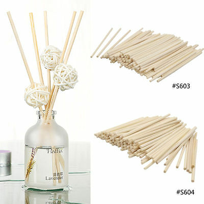 100X Premium Rattan Reed Diffuser Sticks Fragrance Essential Oil Replacement New