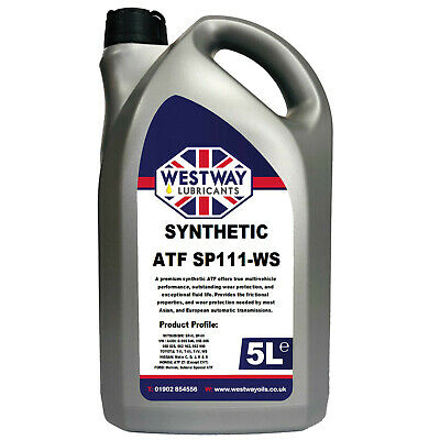 ATF SYNTHETIC SP 3 III-WS Automatic Transmission Oil Fluid 5L