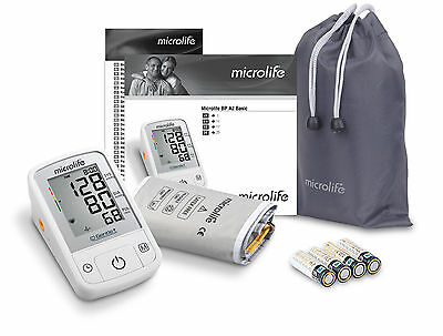 MICROLIFE Blood Pressure Monitor BP A2 Gentle Technology Puls Arthythmia Detect.