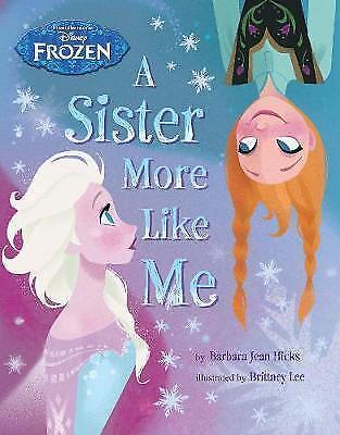 Disney Frozen A Sister More Like Me Storybook, Disney, New Book