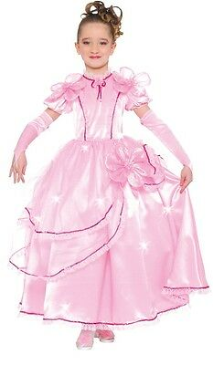 Girls Pink Rich Posh Victorian Fancy Dress Costume Outfit 5-12 years