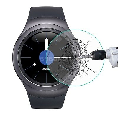 Tempered Glass Screen Protector for Samsung Galaxy Gear S2 Gear Smart Watch