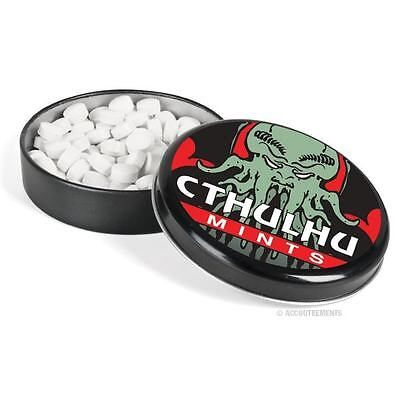 Cthulhu Breath Mints In Tin Novelty Gift Candy H P Lovecraft Call Of