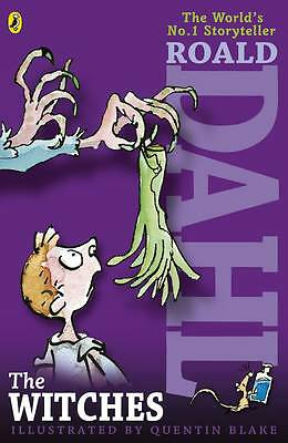 NEW   the WITCHES  by ROALD DAHL paperback   (new cover) +6