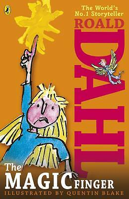 NEW     the MAGIC FINGER by ROALD DAHL paperback   (new cover) +6