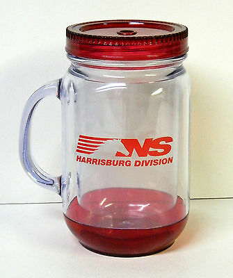 NORFOLK SOUTHERN RAILROAD Harrisburg Division Insulated Drink Cup with Lid