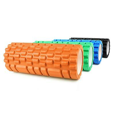 Capital Sports Massage Rolle Reha Fitness Hart Gummi Faszien Therapie Roller Neu