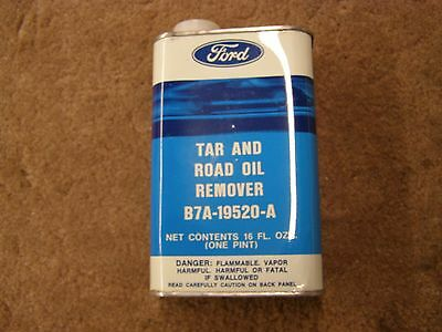 NOS Ford Tar + Road Oil Remover Collectible Can 60-70's