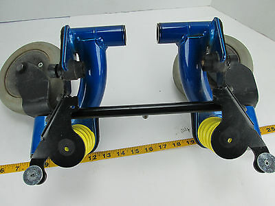 Invacare Power Mobility Chair Wheelchair Parts Model TDX SC REAR CASTER WHEELS