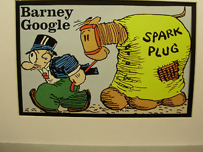 Barney Google  Comic  Strip Character color artist illustrated