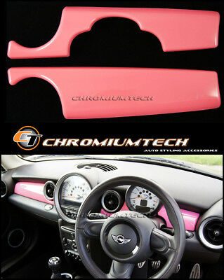 MK2 MINI Cooper/S/ONE R55 R56 R57 R58 R59 PINK Dashboard Panel Trim Cover RHD