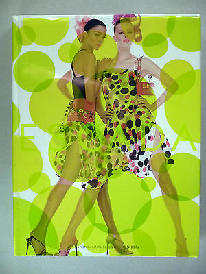Escada CATALOG - Spring/Summer, 2004 ~~ hardcover with dust jacket