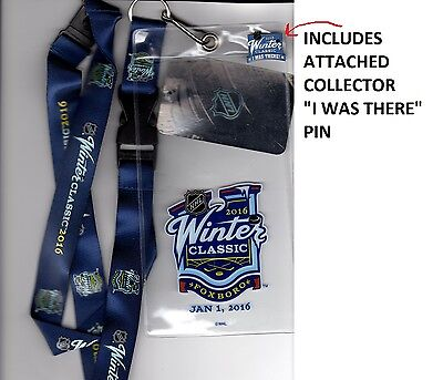 Winter Classic Boston Bruins Montreal Canadiens Ticket Lanyard Use For 2017