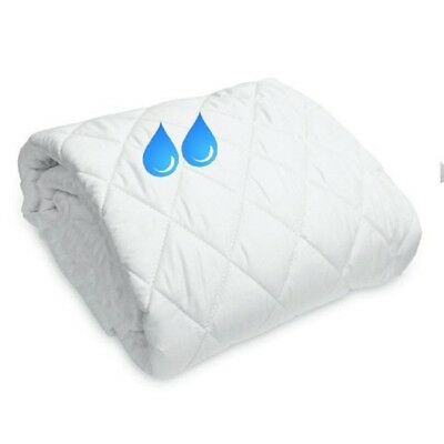 New Waterproof  Terry Towel  Fitted Mattress Protector Extra Deeo 30Cm