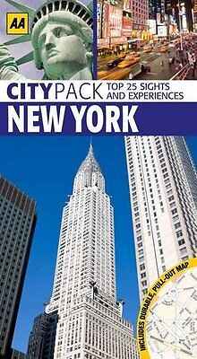 CityPack New York (AA CityPack Guides) By AA Publishing