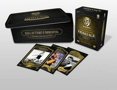 Limited Edition Richmond Hall Of Fame & Immortal Trading Card Collection Tin Set