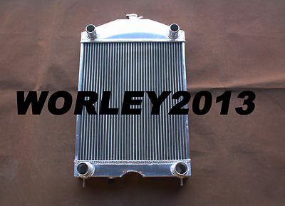 56mm aluminum radiator for Ford 2N / 8N / 9N tractor w/flathead V8 engine Manual