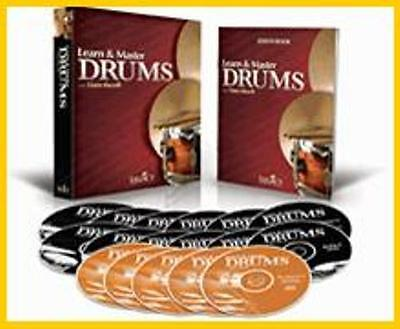 LEGACY~LEARN AND & MASTER DRUMS INSTRUCTIONAL DVD SET by DAN SHERRILL