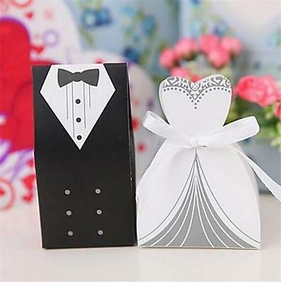 200 bride and groom wedding favor boxes bridal shower gift candy box st4