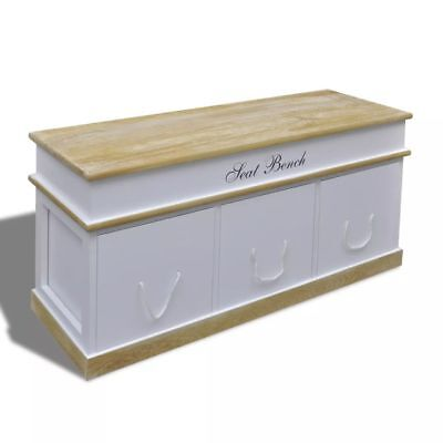 New Wooden Storage Bench Entryway Bench Shoe Cabinet Organization Home Furniture