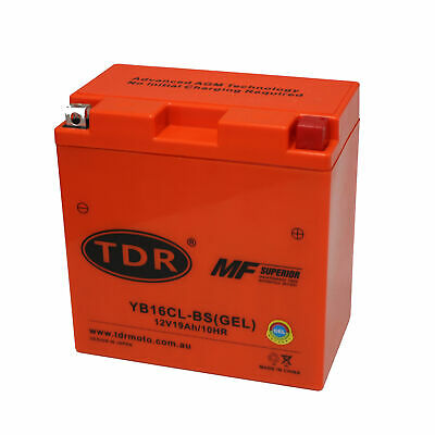 Jet Ski Battery Sea Doo/waverunner Yb16Clb Yb16Cl-B 12V 19Ah Cb16Clb Cb16Cl-B
