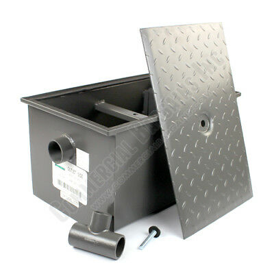 WentWorth 20 Pound Grease Trap Interceptor 10 GPM Gallons Per Minute WP-GT-10