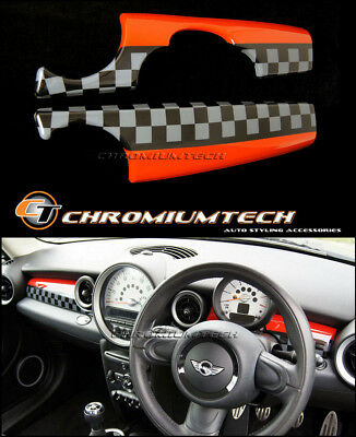 MINI Cooper/S/ONE JCW Style Dashboard Panel Cover R55 Clubman R56 R57 R58 LHD