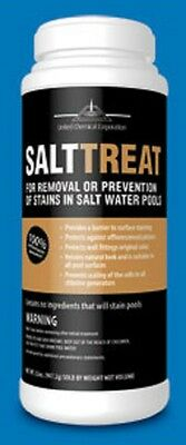 Salt Treat Stain remover United Chemical swimming pool 2lb bottle