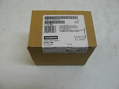 New Siemens 6Es7-131-4Bd01-0Aa0 Input Module 4 Point Digital 24Vdc 5/Pack