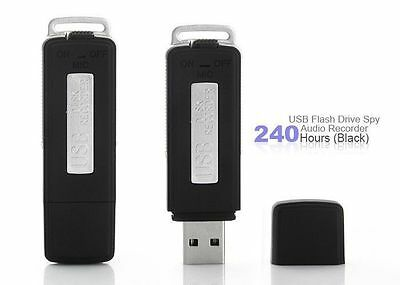4GB Audio Voice Dictaphone Recorder with Built in Spy Mic USB Flash Drive
