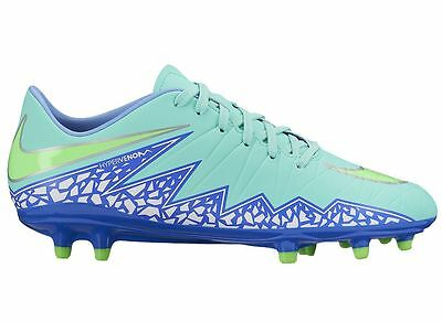 various styles well known detailed look NIKE HYPERVENOM FG Phelon II 2015 Soccer Shoes Turquoise ...