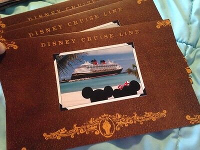 Small Disney Cruise Line Picture Photo Folder Holders - Vacation Memories
