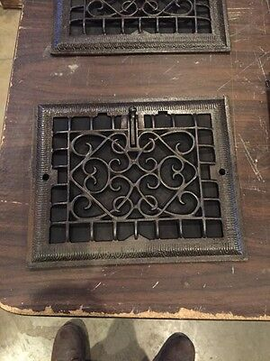 Tc 3 4Available Antique Wall Heating Grate Refinished Priced Separately