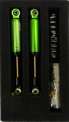 Alloy Int Shocks 90mm for 1:10RC Crawlers and Trucks Green may fit CC01 Axial