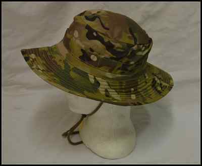 MULTICAM CAMOUFLAGE PATTERN GIGGLE / BUSH HAT  -   Size S to XL