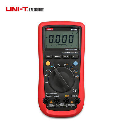 UNIT UT61E Digital Modern Handheld Multimeter Tester AC DC Volt Ohm frequency