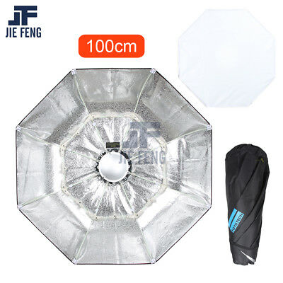 100cm Collapsible Beauty Dish Octagon Softbox Bowens Mount for Bowens godox