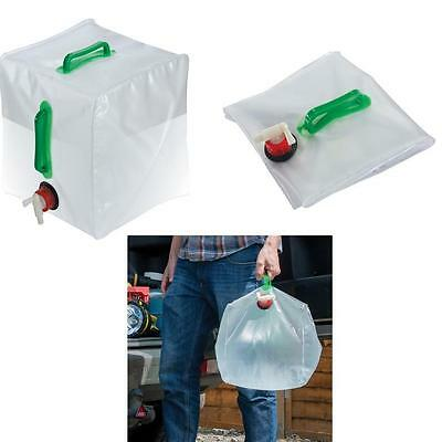 Collapsible Water Container 20 ltr camping caravaning scout groups catering