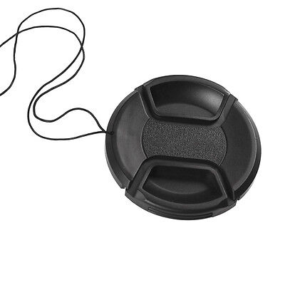 67mm Center-Pinch Snap-On Front Lens Cap Filter Cover w/ String for Camera Nikon