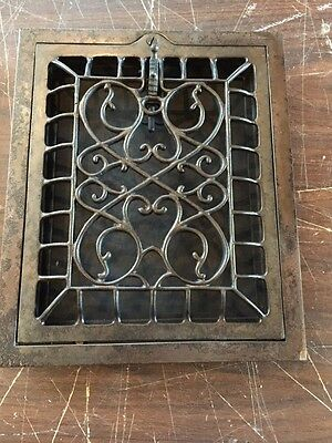 Tc 8 2 Available Price Separately Antique Cast-Iron Vertical Heating Grate