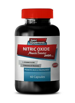 L-Arginine Powder - Nitric Oxide Boost 2400mg - Muscle Engorgement Extreme   1B